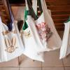 ♥Every guest received a unique welcome bag upon arrival...they were all made them out of Costa Rican themed t-shirts!